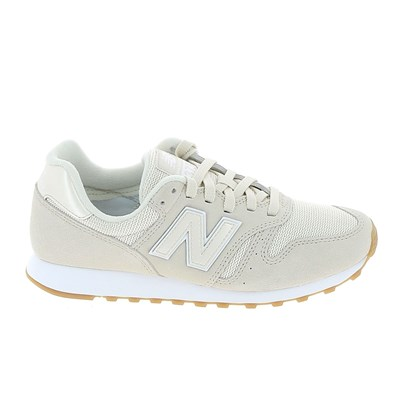 New Balance WL373 BASKETS BASSES BEIGE Chaussure France_v8622