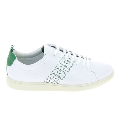 Lacoste CARNABY EVO BASKETS BASSES BLANC Chaussure France_v12035