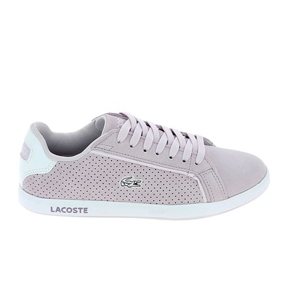 Lacoste GRADUATE BASKETS BASSES VIOLET Chaussure France_v11298