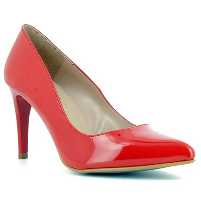 Giulia ESCARPINS ROUGE Chaussure France_v10280
