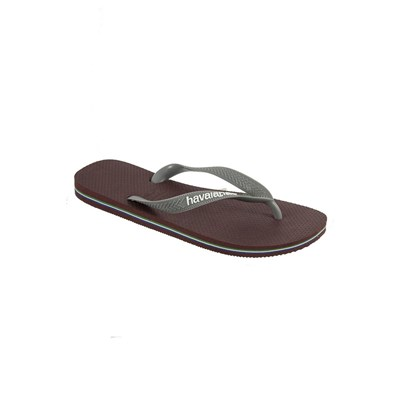 Chaussures Homme | Havaianas BRASIL LOGO TONGS MARRON
