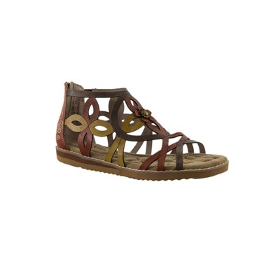 Laura Vita SANDALES MARRON Chaussure France_v7696