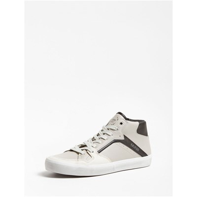 Guess STATEMENT SNEAKERS MONTANTE GRIS CLAIR Chaussure France_v7079