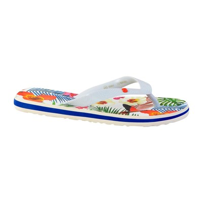 Chaussures Femme | Desigual FLIP FLOP TROPICAL TONGS BLANC