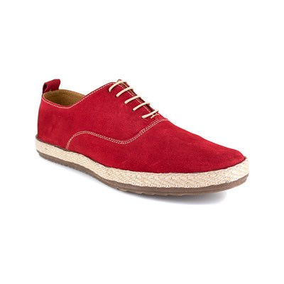 J.Bradford SAPORT SNEAKERS IN PELLE ROSSO