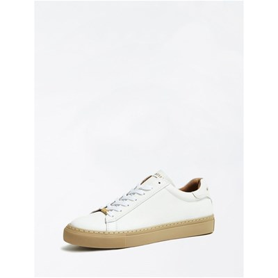 Marciano Los Angeles SNEAKERS EN CUIR BLANC Chaussure France_v12844