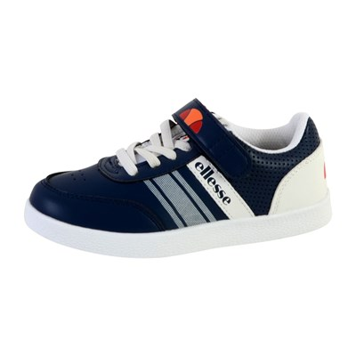 Ellesse FIGARO KID BASKETS BASSES BLEU MARINE Chaussure France_v1121