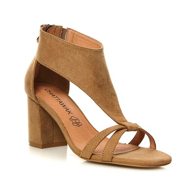 Chaussures Femme | Chattawak IRIS SANDALES TAUPE