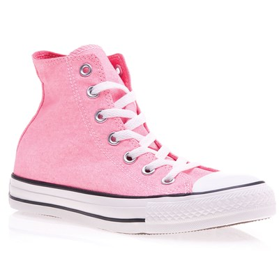 Converse NEON BASKETS MONTANTES ROSE Chaussure France_v12157