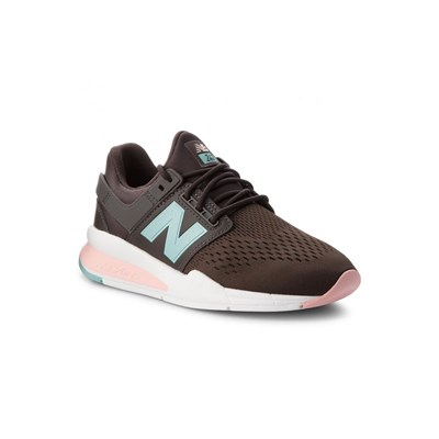 New Balance 247 BASKETS BASSES MARRON