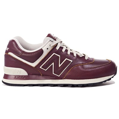 Chaussures Homme | New Balance ML574LUD BASKETS BASSES BORDEAUX