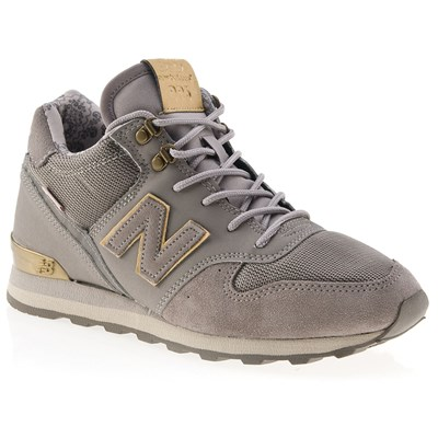 New Balance 996 BASKETS MONTANTES GRIS Chaussure France_v14814