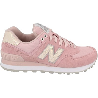 New Balance WL574CIC BASKETS BASSES ROSE