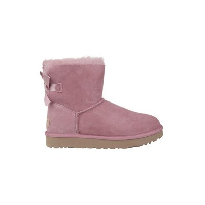 Ugg MINI BAILEY BOW II BOTTES DE NEIGE ROSE Chaussure France_v18295