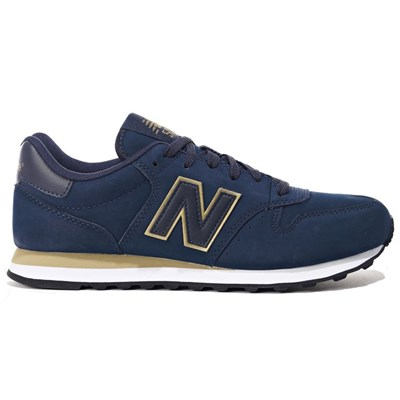 New Balance 500 BASKETS BASSES BLEU MARINE