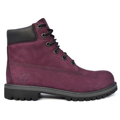 Timberland 6 IN PREMIUM WP BOOT BOTTINES BORDEAUX Chaussure France_v17417