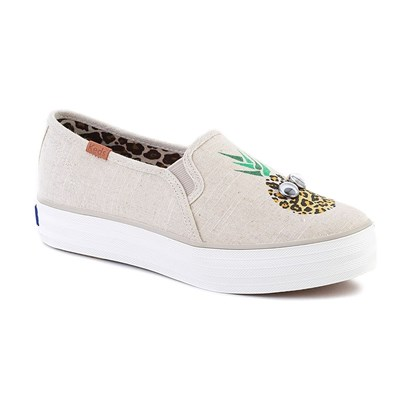 Keds BASKETS BASSES BEIGE Chaussure France_v9867