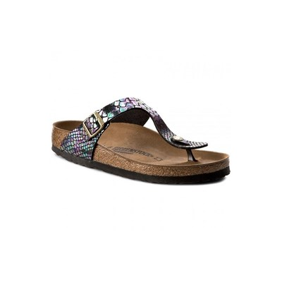 Birkenstock GIZEH BF SHINY SNAKE TONGS MULTICOLORE Chaussure France_v15356