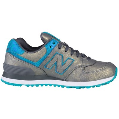 New Balance WL574MGC BASKETS BASSES MULTICOLORE Chaussure France_v8644