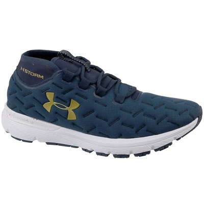 Under Armour UA CHARGED REACTOR RUN BASKETS BASSES BLEU MARINE Chaussure France_v17636