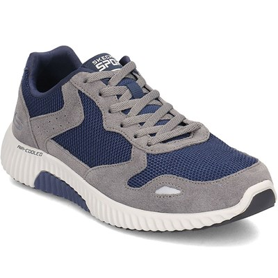 Skechers PAXMEN BASKETS BASSES BLEU MARINE Chaussure France_v11632