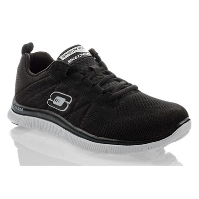 Skechers MEMORY FOAM BASKETS BASSES NOIR Chaussure France_v16017