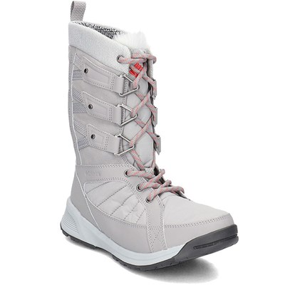 Columbia MEADOWS SHORTY OMNI HEAT 3D BOTTES DE NEIGE GRIS Chaussure France_v14982