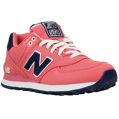 Chaussures Femme | New Balance WL574POP BASKETS BASSES ROSE