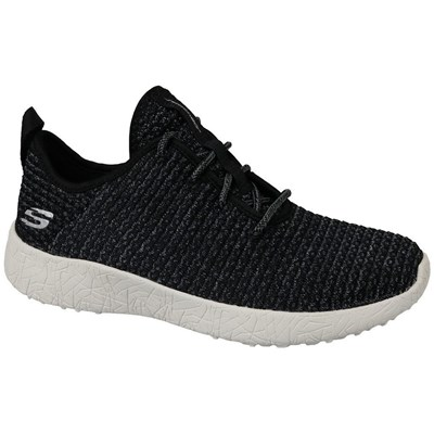 Skechers BURST BASKETS BASSES NOIR Chaussure France_v11613