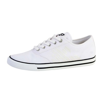 EA7 X8X039 XCC20 BASKETS BASSES BLANC Chaussure France_v12760