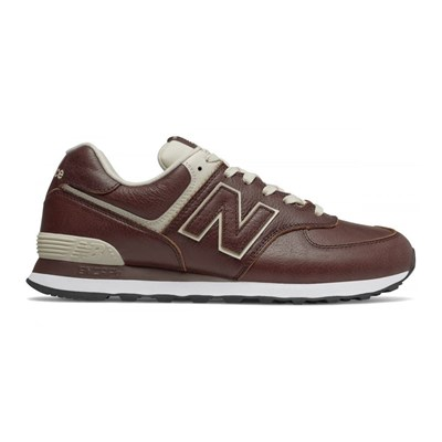 New Balance ML574LPB BASKETS BASSES MARRON Chaussure France_v14552