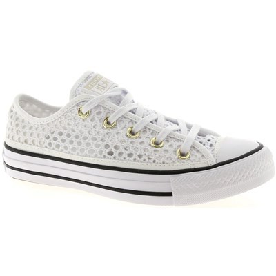 Converse CTAS BASKETS BASSES BLANC Chaussure France_v8589