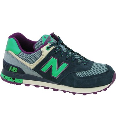 New Balance WL574TSY BASKETS BASSES MULTICOLORE Chaussure France_v13857
