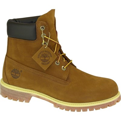 Timberland 6 INCH PREM BOOT RUST BOTTINES MARRON