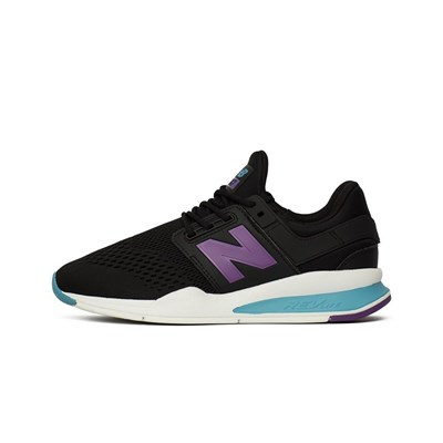 New Balance 247 BASKETS BASSES NOIR Chaussure France_v14659