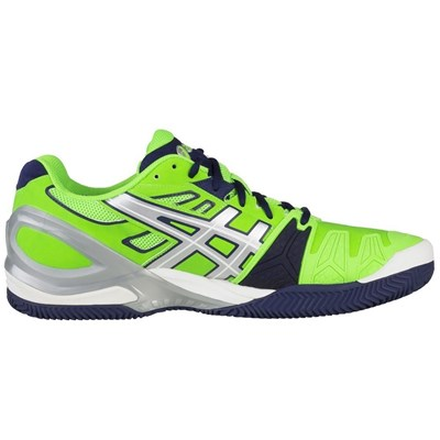 Asics GELRESOLUTION 5 CLAY CHAUSSURES DE TENNIS MULTICOLORE Chaussure France_v10553