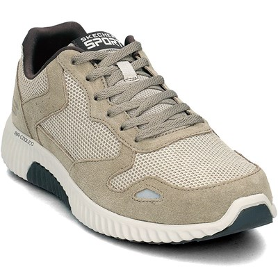 Skechers PAXMEN BASKETS BASSES GRIS Chaussure France_v11633