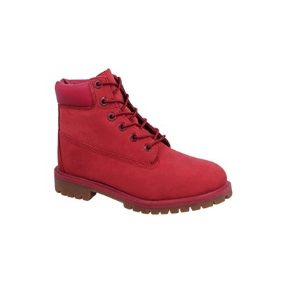 Timberland 6 IN PREM BOTTINES ROUGE Chaussure France_v17416