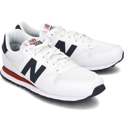 Chaussures Homme | New Balance 500 BASKETS BASSES BLANC