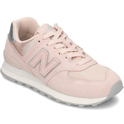 New Balance WL574OPS BASKETS BASSES ROSE Chaussure France_v14270