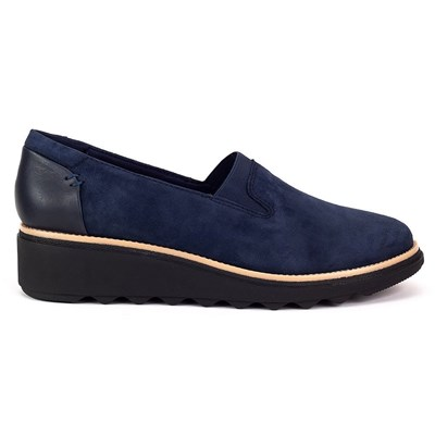 Clarks BASKETS BASSES BLEU MARINE Chaussure France_v17159