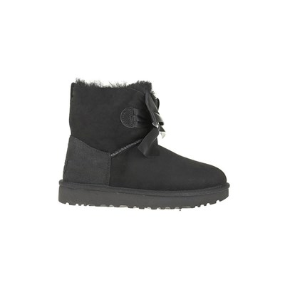 Ugg GITA BOW MINI BASKETS BASSES NOIR Chaussure France_v18212