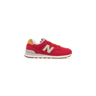 New Balance ML574YLA BASKETS BASSES ROUGE Chaussure France_v13014
