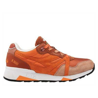 Diadora BASKETS BASSES ORANGE Chaussure France_v15062