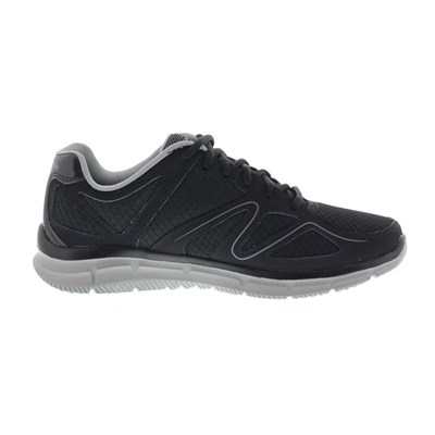 Skechers SATISFACTION FLESH POINT BASKETS BASSES NOIR