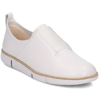 Clarks BASKETS BASSES BLANC Chaussure France_v13542