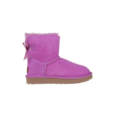 Ugg MINI BAILEY BOW II BOTTES DE NEIGE ROSE Chaussure France_v18294