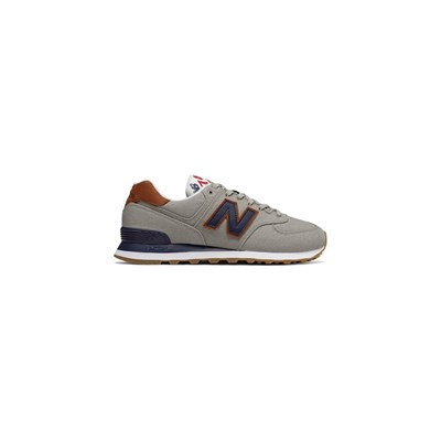 New Balance ML574 BASKETS BASSES GRIS Chaussure France_v14057
