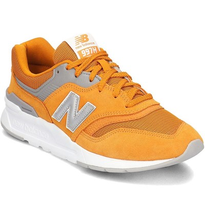 New Balance 997 BASKETS BASSES ORANGE Chaussure France_v13917