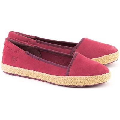 Timberland CASCO BAY ESPADRILLES ROSE Chaussure France_v12343